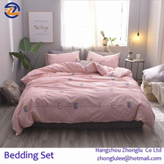 2018 new design for home Bed linen bedding set