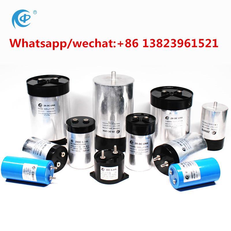 dc link film wind power inverter capacitor 1200vdc 320uf 1