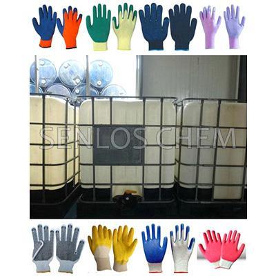 Butadiene-Acrylonitrile Latex (NBR Latex) used for making gloves 1