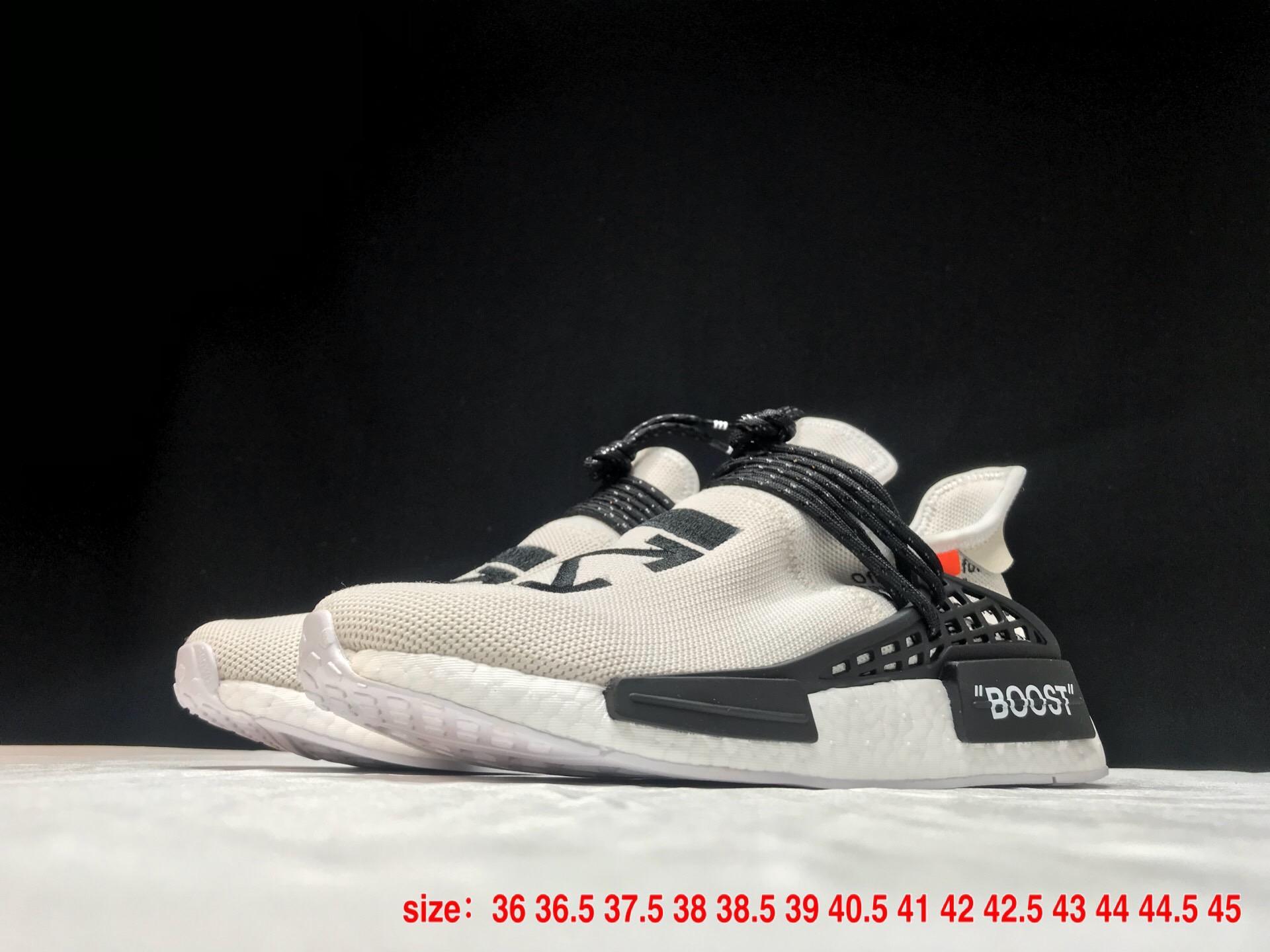 Adidas shoes 2018 new model Adidas PW HU HOLI NMD MC casual shoes