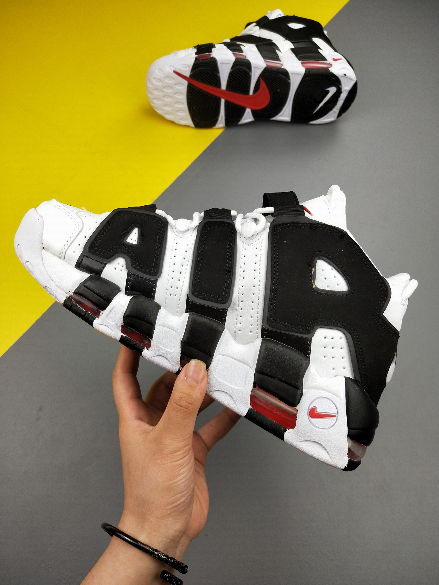 Nike Air More Uptempo'96 men women sport shoes hot sellinng shoes