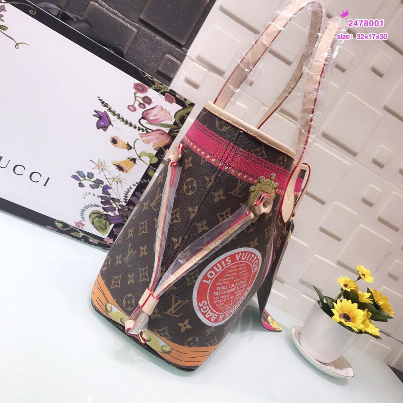 Wholesale louis vuitton cheap high quality men women handbag brand bag