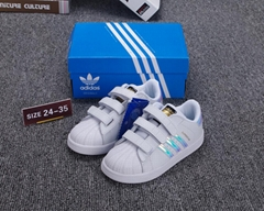 wholesale adidas children shoes adidas superstar shoes  kid shoes size: 24-35