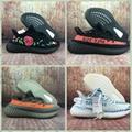 Wholesale 1:1 top quality  adidas yeezy 350v2 Boost x supreme men shoes women  6