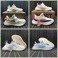 Wholesale 1:1 top quality  adidas yeezy 350v2 Boost x supreme men shoes women  7