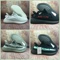 Wholesale 1:1 top quality  adidas yeezy 350v2 Boost x supreme men shoes women  8