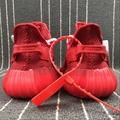 Wholesale 1:1 top quality  adidas yeezy 350v2 Boost x supreme men shoes women  12