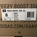 Wholesale 1:1 top quality  adidas yeezy 350v2 Boost x supreme men shoes women  19