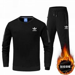 hotselling adidas suits Fleece warm suit   men clothing women suits