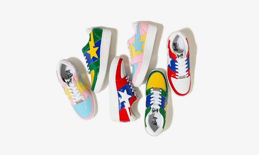 "2019 BAPE STA ""Cotton Candy"" wholesale bape star shoes hot selling shoes"