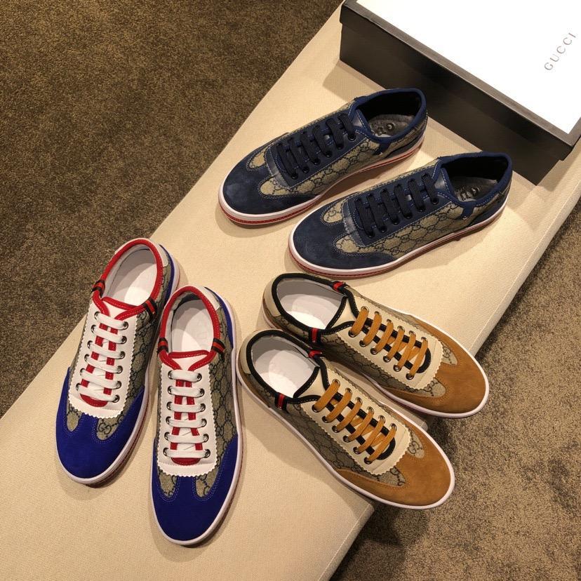 0bedfe1903dd 2019 wholesale Gucci shoes men shoes women shoes fashion shoes free  shipping ...