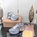 Wholesale Miumiu women shoes casual female footwear sneakers