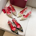 New Arrive 1:1 quality Valentino heeled shoes Valentino women shoes hot sale