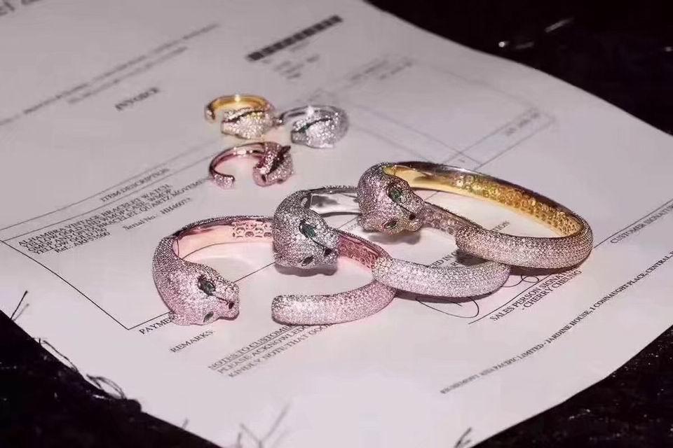 wholesale Cartier replica cartier ring cartier earring cartier cartier jewelry  17