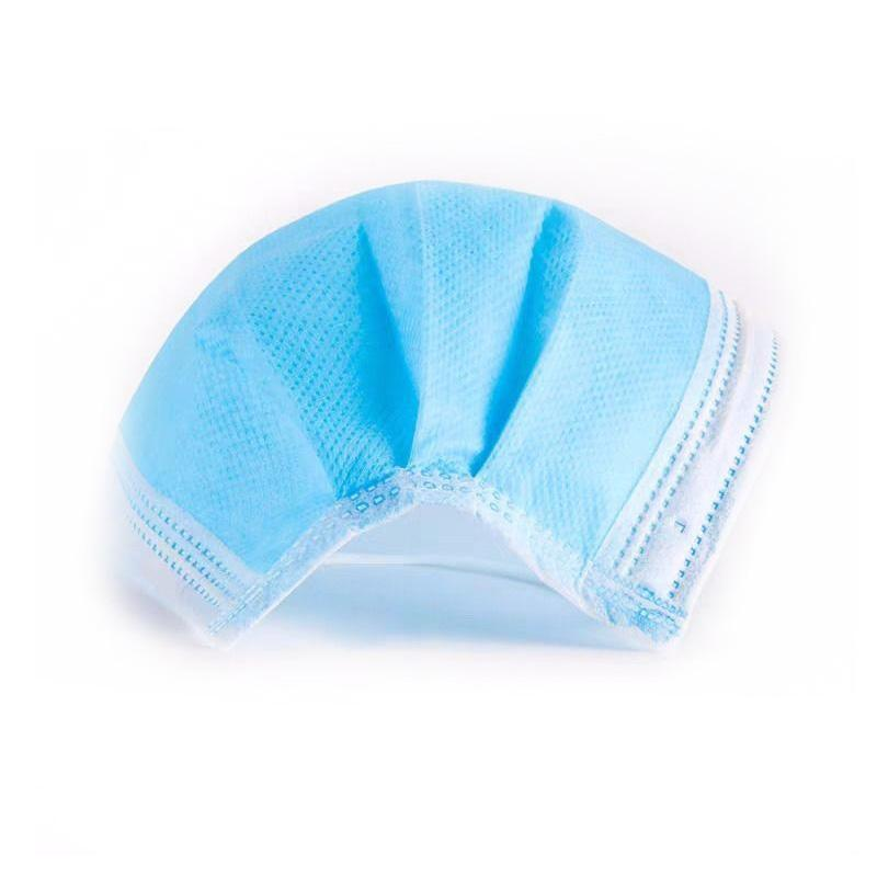 wholesale 3 Ply Nonvone Disposable Medical Face Mask with Earloop 3