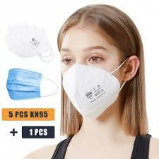 Wholesale 2019-nCoV N95 Masks KN95 Medical Civilian N95 Mask Pneumonia Mask 1