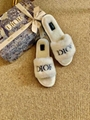 Dior Vintage lettered flip-flops   Dior Slippers replicas dior slides for Women