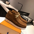 2020 LV Short Boot LV Flat Boots LV high top shoes Top quality shoes