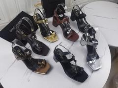 2021 Saint Laurent  Super High Heel Waterproof Splatform Sandals Women Shoes