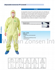 Disposable Nonwoven PP coverall