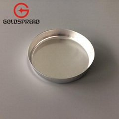 150ml Laboratory Aluminum Smooth-Walled Weighing Dish Evaporating Dish