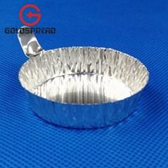 60ml Medium Size Aluminum Weighing Boat Evaporating Dish Weighing Dish
