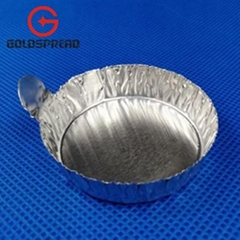 20ml  with Tab Round Metal Weighing Pans Evaporating Dishes Weighing Dishes
