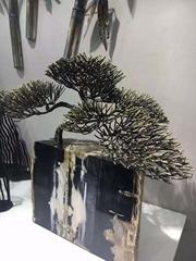 鋁雕鏤空工藝品送禮品