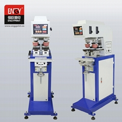 2-color pad printing machine with table shuttle