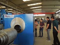 Huashida 3LPE Steel Pipe Anticorrosion Production Line