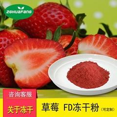 华芳FD真空冻干草莓粉