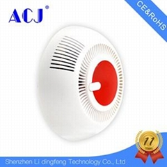 Battery operated Smoke Detector Fire Alarm with Photoelectric Sensor