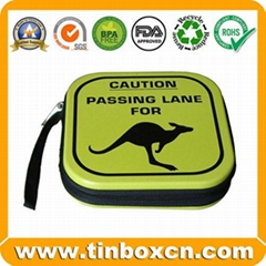 CD Tin Case Metal Tin Box
