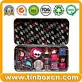 Rectangular Cosmetic Tin Box Metal Tin