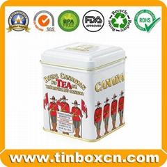 Tea Tin Box Metal Tin Can