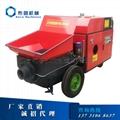 小型混凝土输送泵 3
