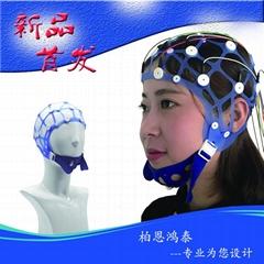 電極固定帽腦電圖機專用帽醫用彈力網帽長程監測