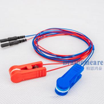 金盘/氯化银耳夹电极脑电配件 3