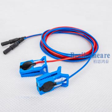 金盘/氯化银耳夹电极脑电配件 5