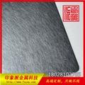 優質304電鍍黑鈦亂紋不鏽鋼彩