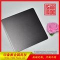 廠家供應304不鏽鋼噴砂黑鈦裝飾板 4