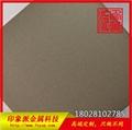 304電鍍鈦金色噴砂不鏽鋼彩色板 霧面金色不鏽鋼 2