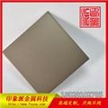 304電鍍鈦金色噴砂不鏽鋼彩色板 霧面金色不鏽鋼 3