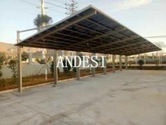 cantilever polycarbonate carport parking shed