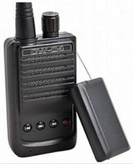 wireless audio Transmitter-receive recording pickup mic spy bug