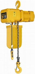WOKAITE 3 ton Electric chain hoist with trolley