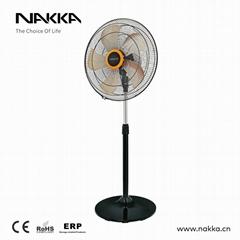 "NAKKA 18"" inch 450mm DC stand fan pedestal fan 5 blade aluminum design"