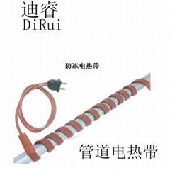加工硅橡膠電熱帶適用於FRP玻璃鋼管道加熱