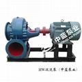 HW-S卧式型混流泵