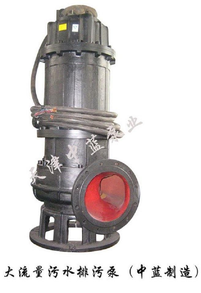 潜水排污泵大口径污水处理泵站现货 1
